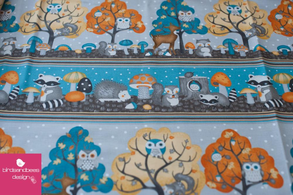 Cute Critters Streifen by Wilmingtonprints 2
