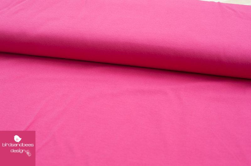 Baumwoll-Jersey UNI pink 2