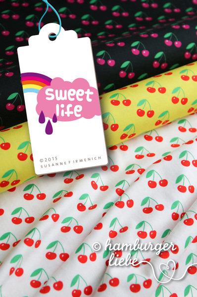 Sweet Life Cherries gelb von Hamburger