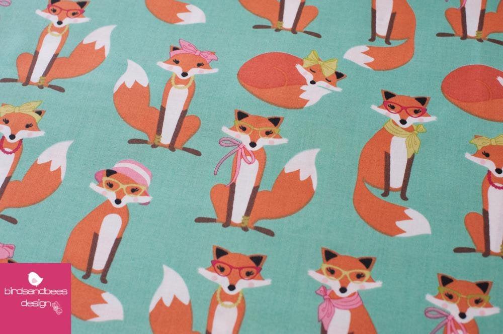 Fabulous Foxes mint by RKaufman