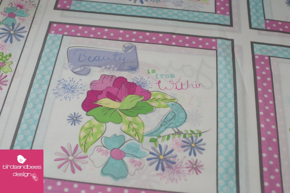 Pretty Little Things Panel by wilmingtonprints