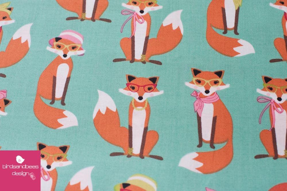 Fabulous Foxes mint by RKaufman 4