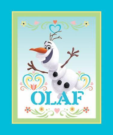 Disney FROZEN Dancing Olaf PANEL