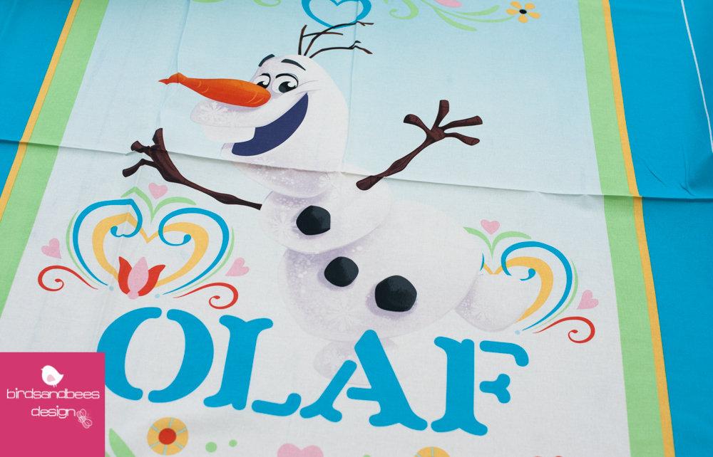 Disney FROZEN Dancing Olaf PANEL 2