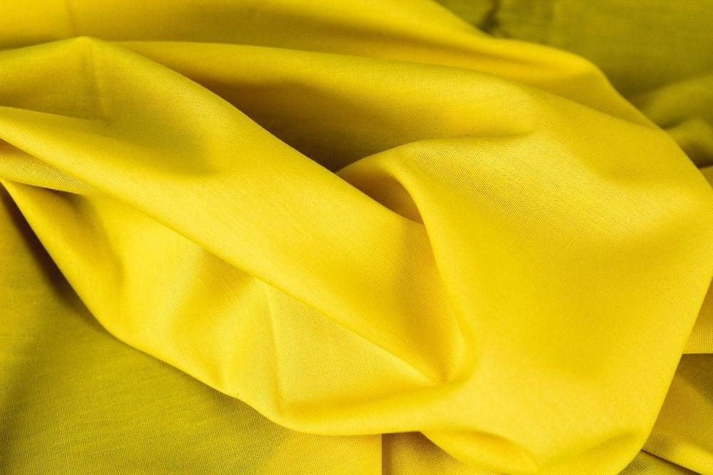 Baumwolle UNI gelb