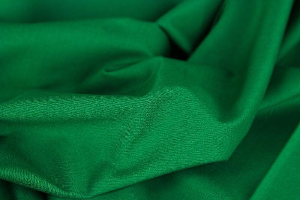 Baumwolle UNI dunkelgrün