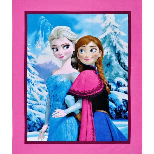 Disney FROZEN Snowing scenic PANEL