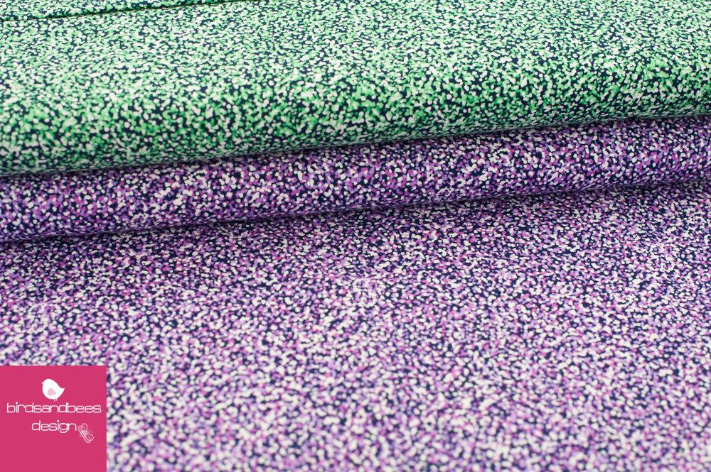 SWAN LAKE bitty dots purple by