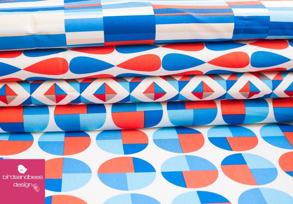 Geo Pop Canvas bright Streifen 3