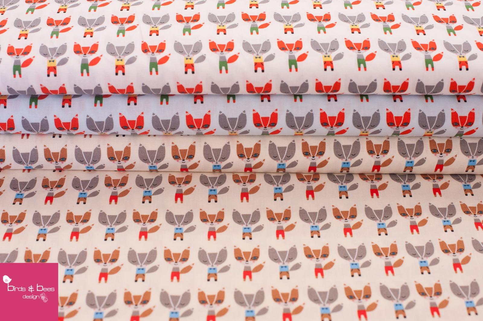 SUZYS MINIS fox hellblau by Robert