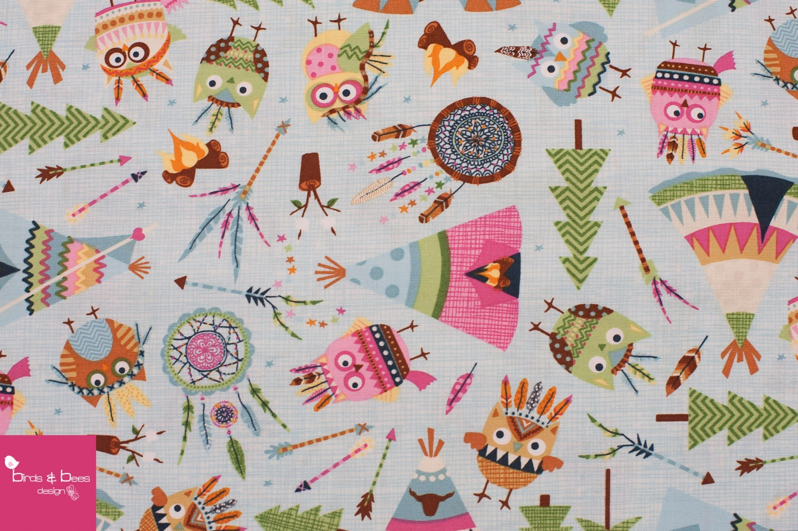 OWLS & TEEPEES by Timeless Treasures