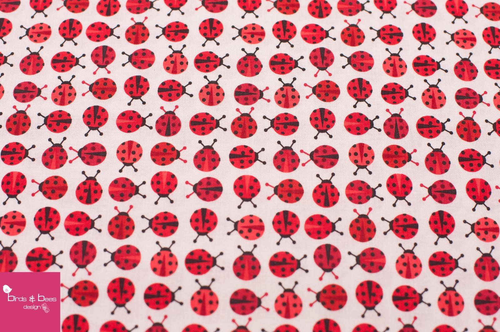 URBAN ZOOLOGIE MINIS ladybugs red