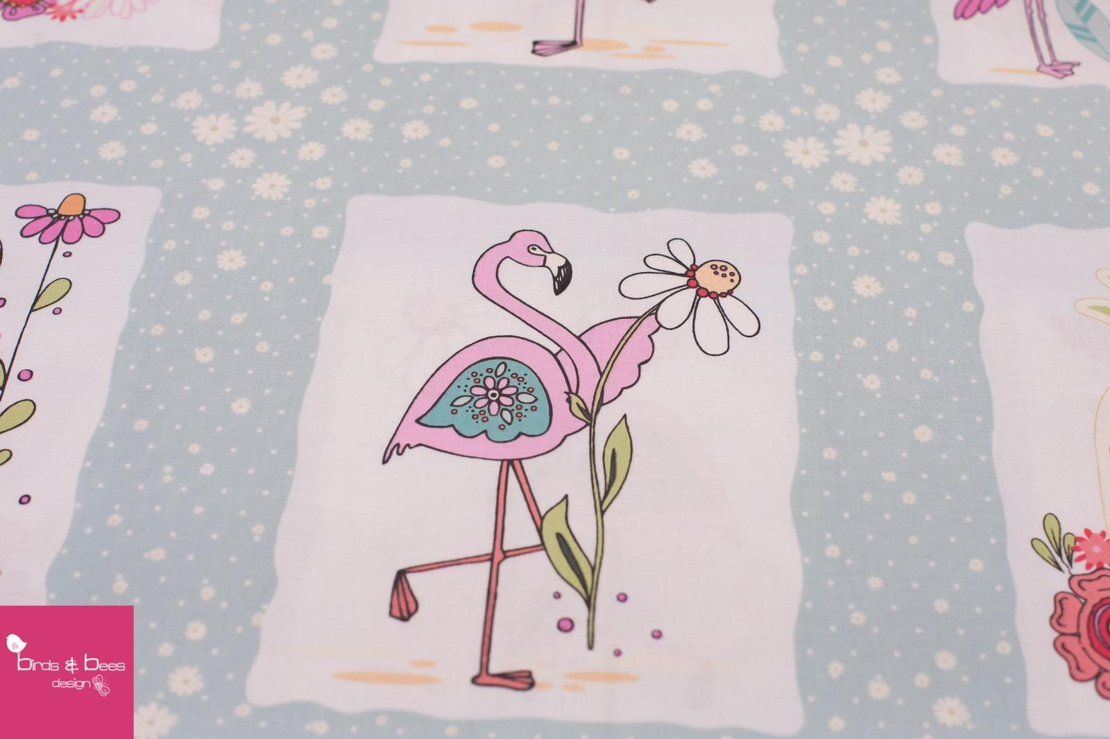FLAMINGO FEVER flamingo light blue 2