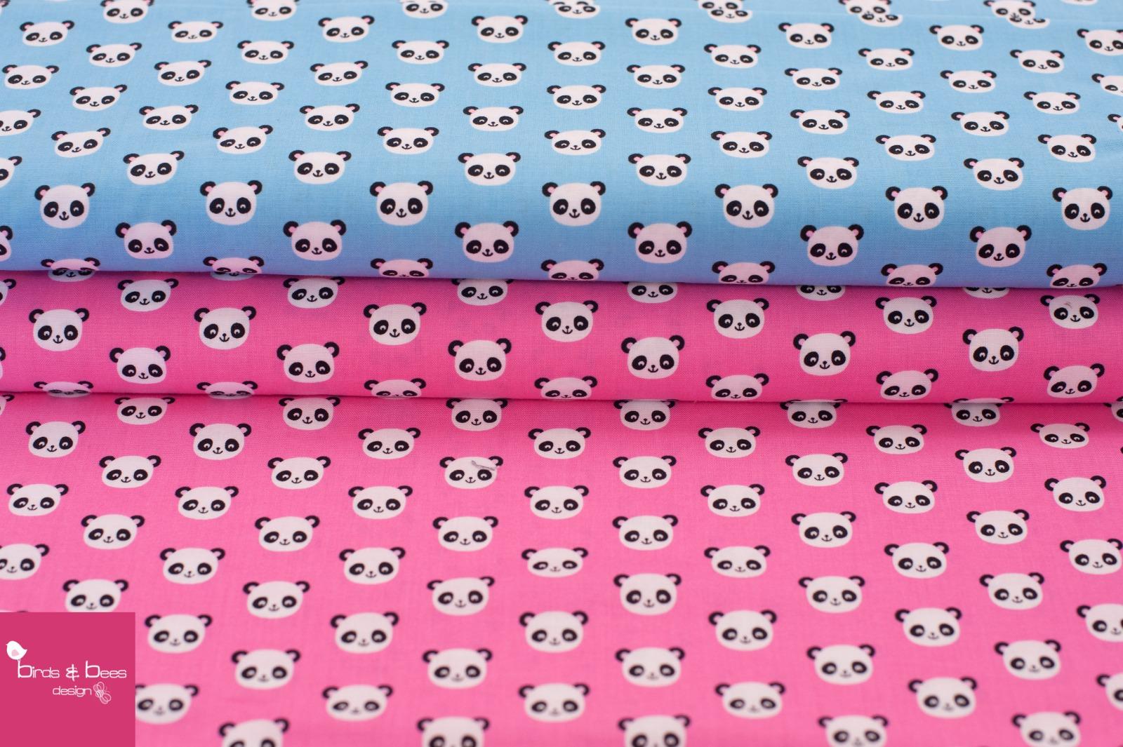 URBAN ZOOLOGIE MINIS panda pink 4