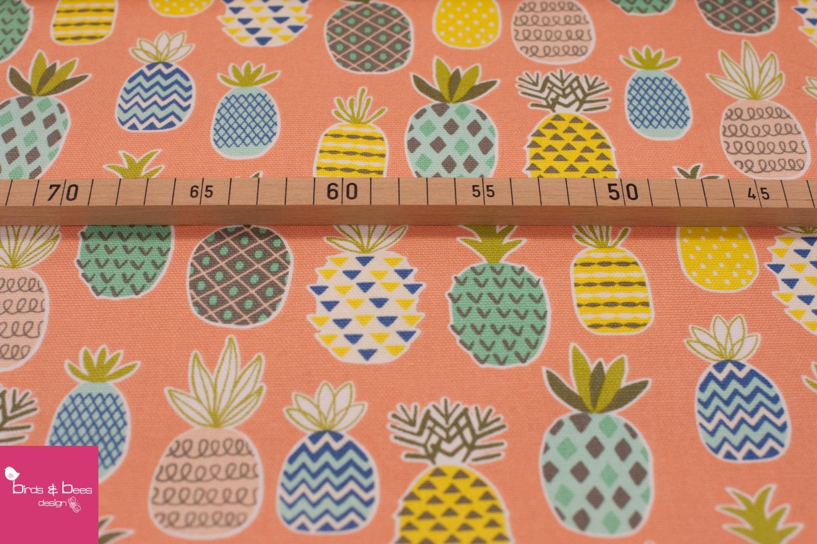 Pineapple Canvas peach 2