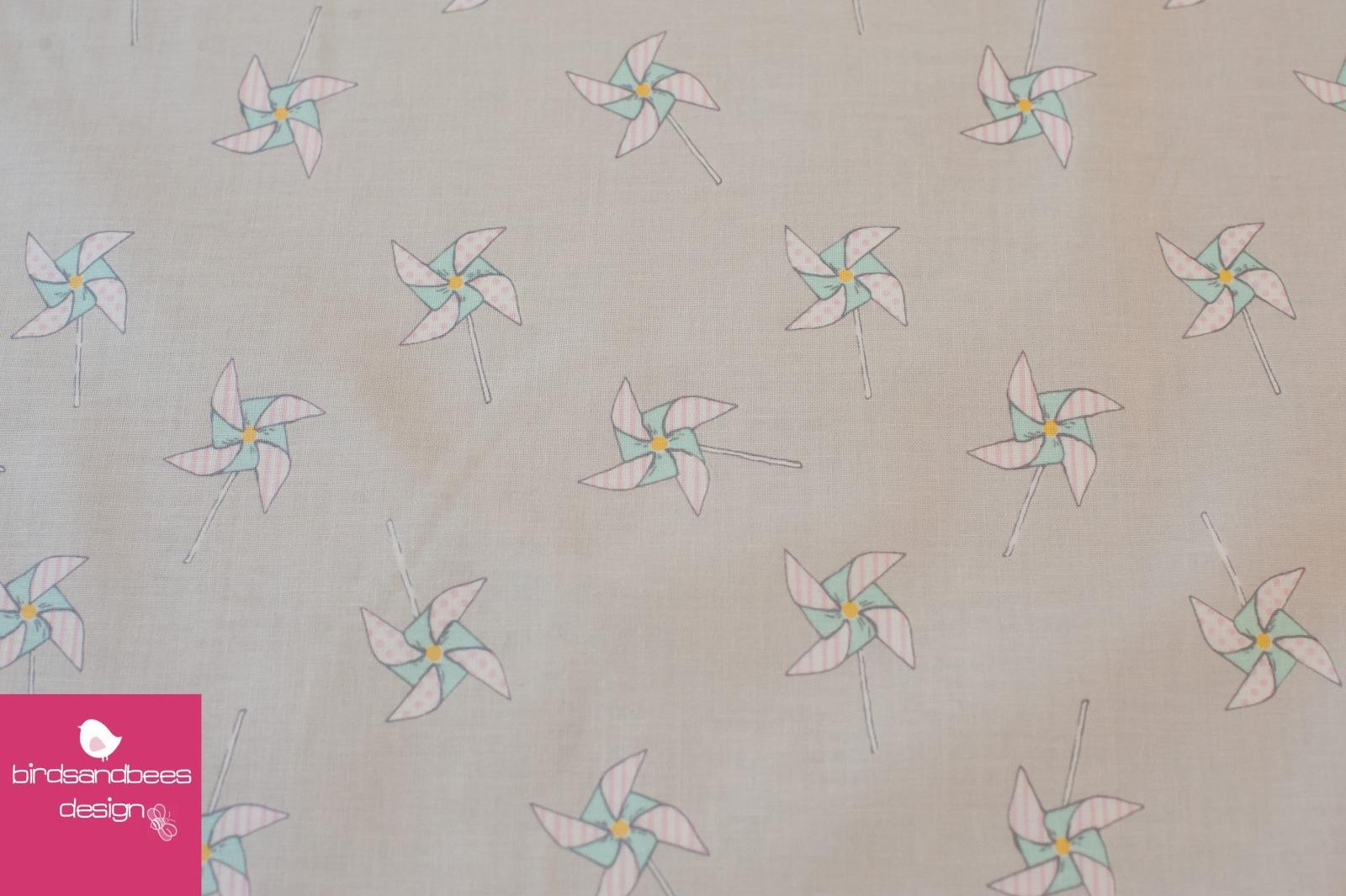PINWHEELS hellgrau by Sarah Jane