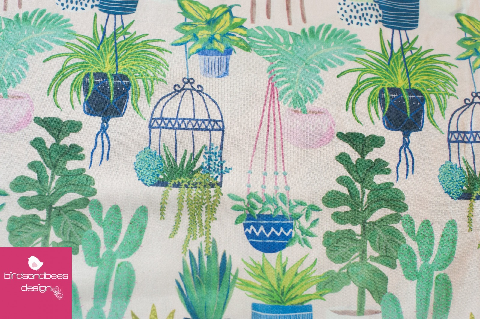 POTTED PLANS by Nerida Hansen Fabrics