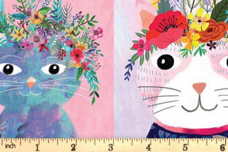 Floral pets by blend fabrics 2