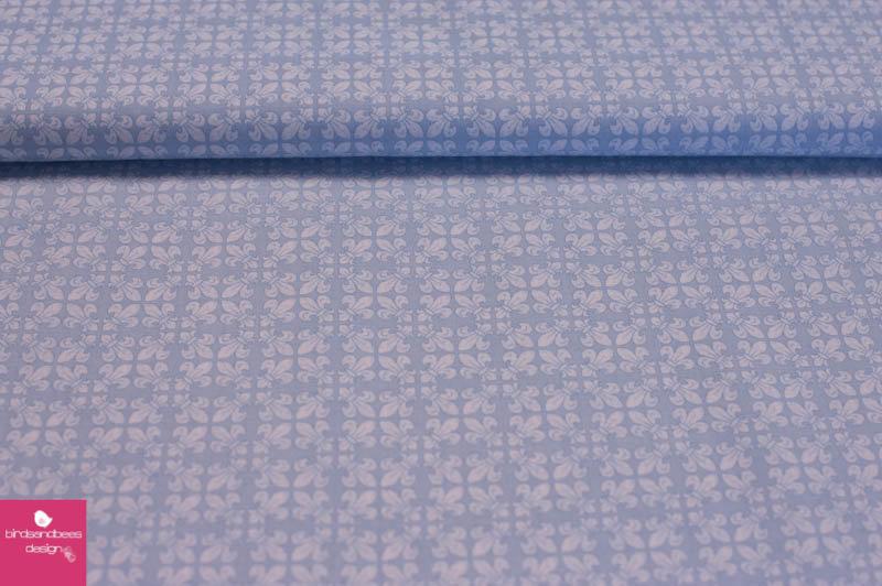 FRENCH FLEA MARKET Lilie blau by