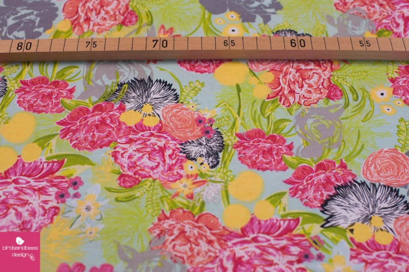 FLOWERS by blend fabrics 2
