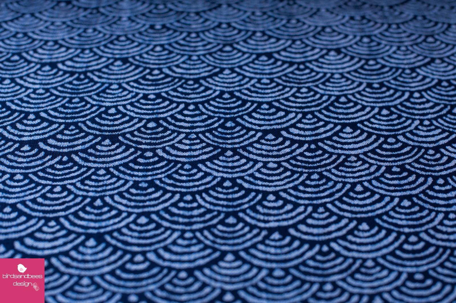 Japan Graphic Bögen dunkelblau