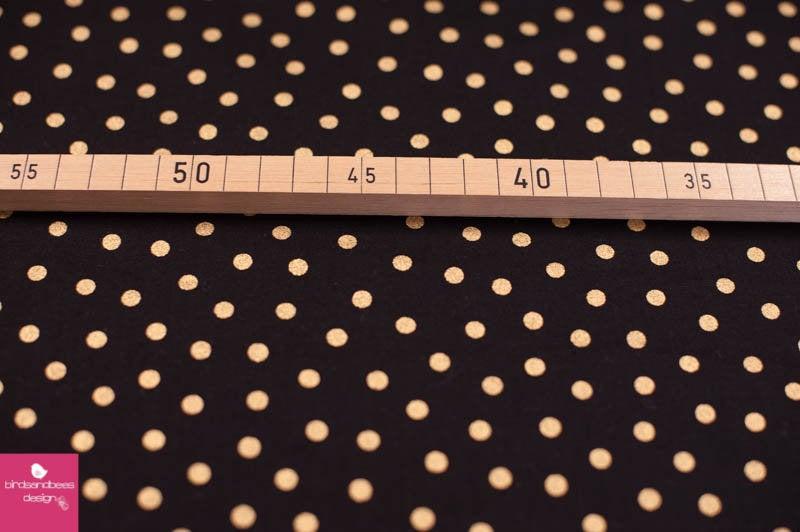 MIXOLOGY LUXE dots schwarz-gold 2