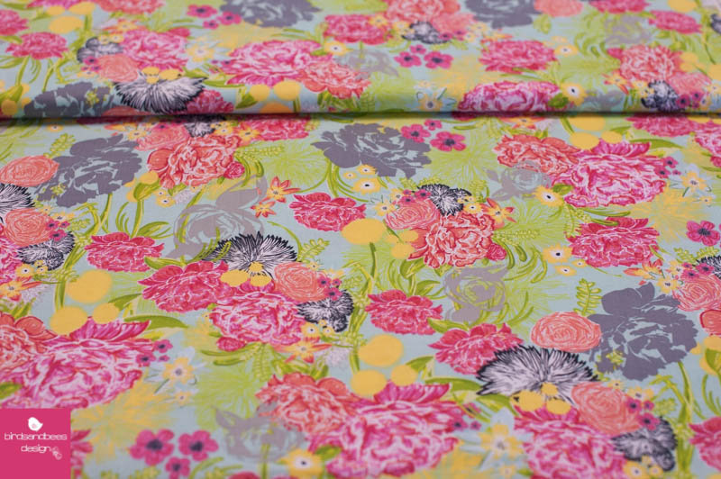 FLOWERS by blend fabrics