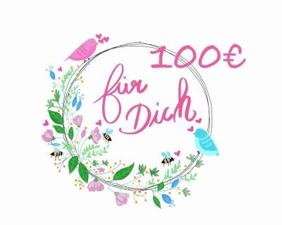 Geschenkgutschein 100-