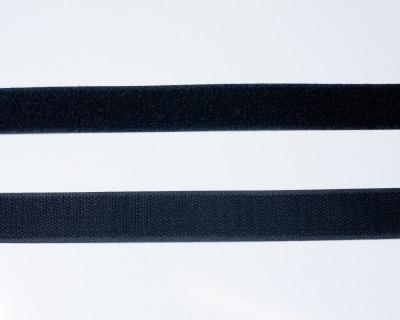 Klettband 1m 25mm - Schwarz -