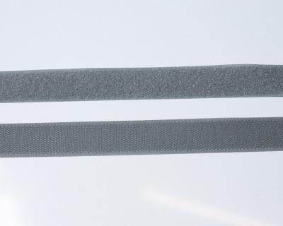 Klettband 1m 25mm - Grau -