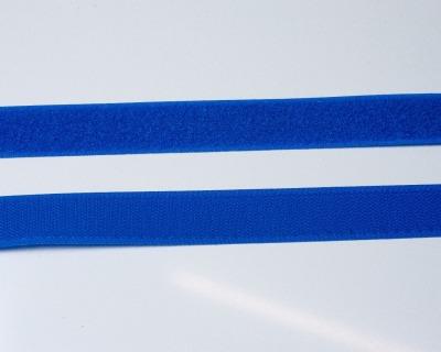 Klettband 1m 25mm - Blau -