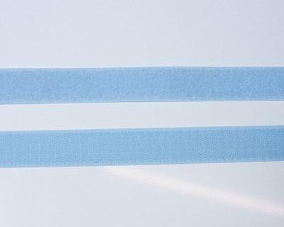 Klettband 1m 25mm - Hellblau -