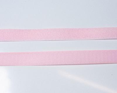 Klettband 1m 25mm - Rosa -