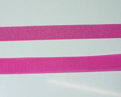 Klettband 1m 25mm - Pink -