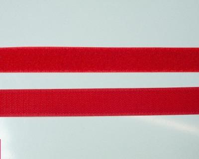 Klettband 1m 25mm - Rot -