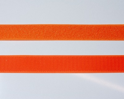 Klettband 1m 25mm - Orange -