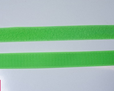 Klettband 1m 25mm Neon Grün Klettverschluss