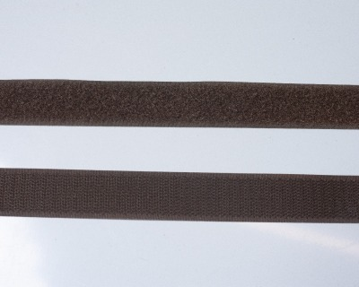 Klettband 1m 25mm - Braun -
