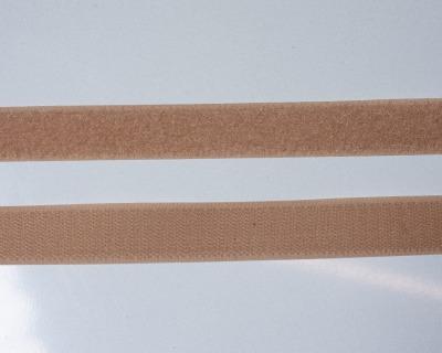 Klettband 1m 25mm - Beige -