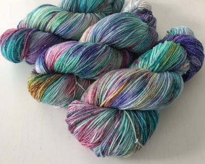 Superwash Merino Sock Weight UNICORN HAIR