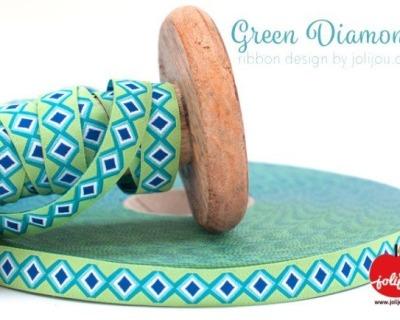 Webband Green Diamond