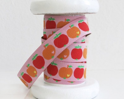 Webband Apfel orange-rot byGraziela