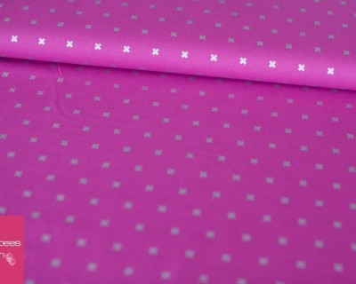 COTTON STEEL Basis metallic pink