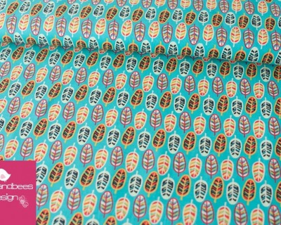 BIRDS OF FEATHER feather Camelot Fabrics