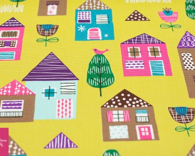 HOUSES Canvas by cosmo