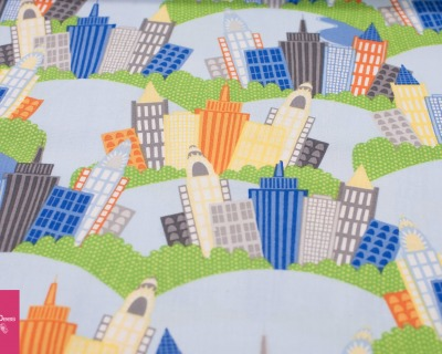 BIG CITY FRIENDS Häuser by wilmingtonprints