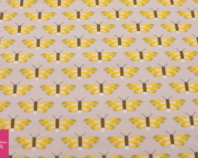 PACIFIC butterfly grau-gelb
