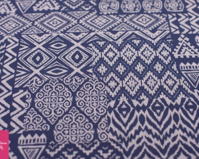 CHAMBRAY INDIGO by Robert Kaufman