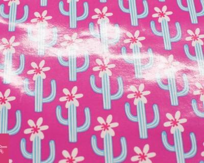 CACTUS BLOSSOM pink laminiert by JOLIJOU