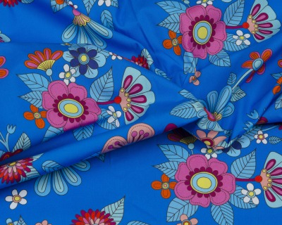 AMORE MIO Popeline blau by HHL